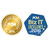 PCM Biz IT Excellence 2014 / 2016